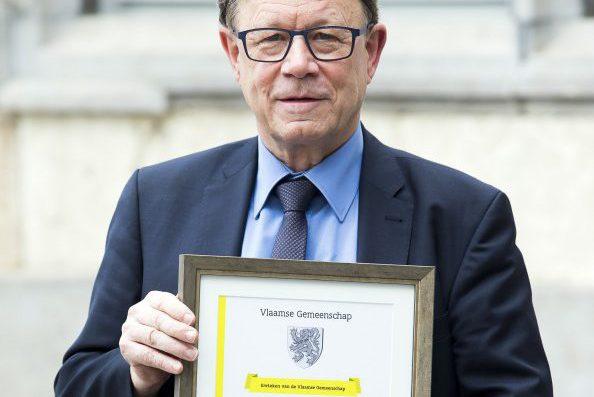Manu Keirse - Ereteken Vlaamse Gemeenschap 2018