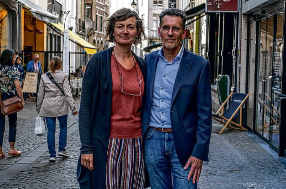 Marleen Ruelens en Jacques Roggen